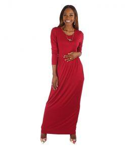 Maxi Dress Maroon