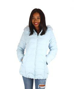 Puffy Coat Blue